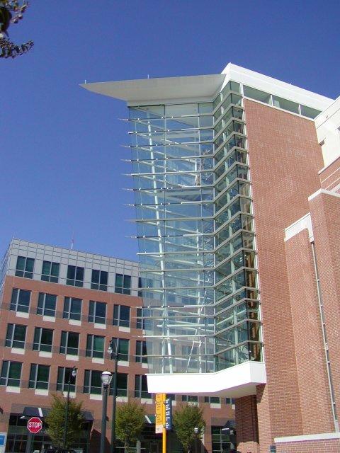 College/university building built with metal - Georgia Tech
