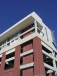 College/university building built with metal - University of Florida