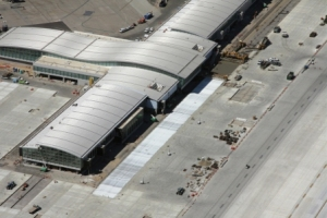 Airports with stainless steel roofs help with cooling efficiency
