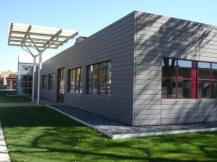 Elementary school with retrofit metal roofing