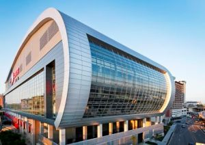 KFC Yum! Center Metal Roof
