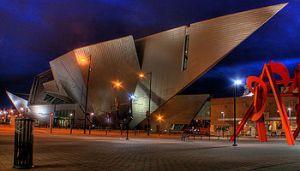 Denver Art Museum - Night