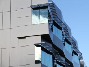 Denver Police Crime Lab Building Uses Aluminum Panles