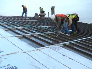 Retrofit metal roofing helps reduce carbon footprint